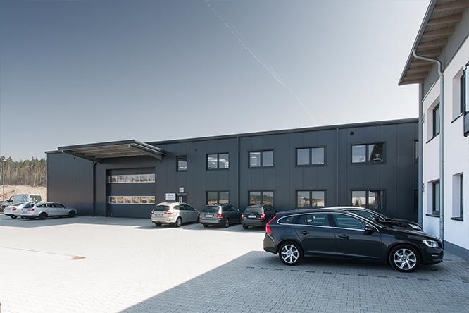 Firmengebäude der bock machining Gmbh in Alzenau