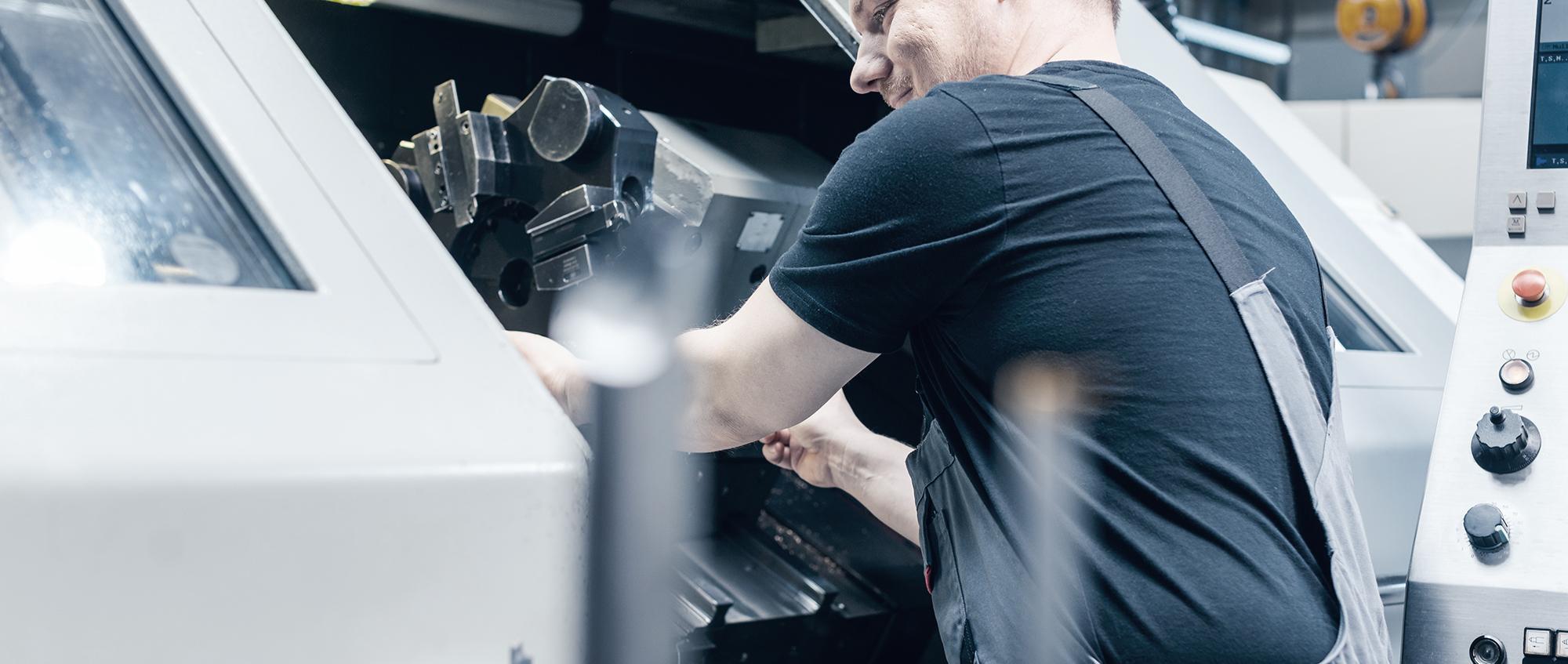 Modernste CNC Technologie bei bock machining in Alzenau