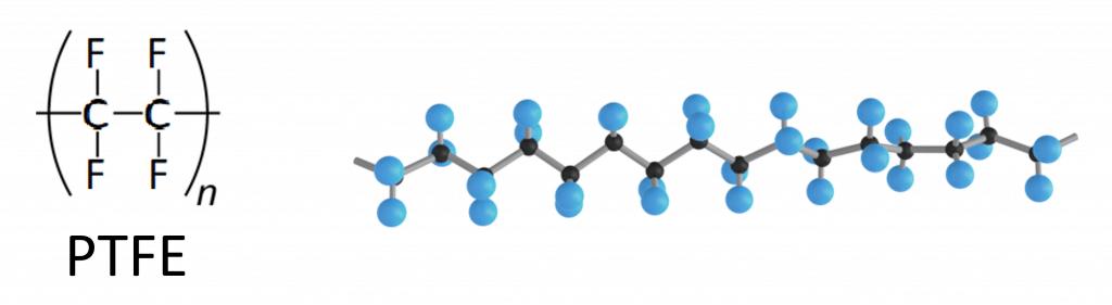 ptfe molekuelkette